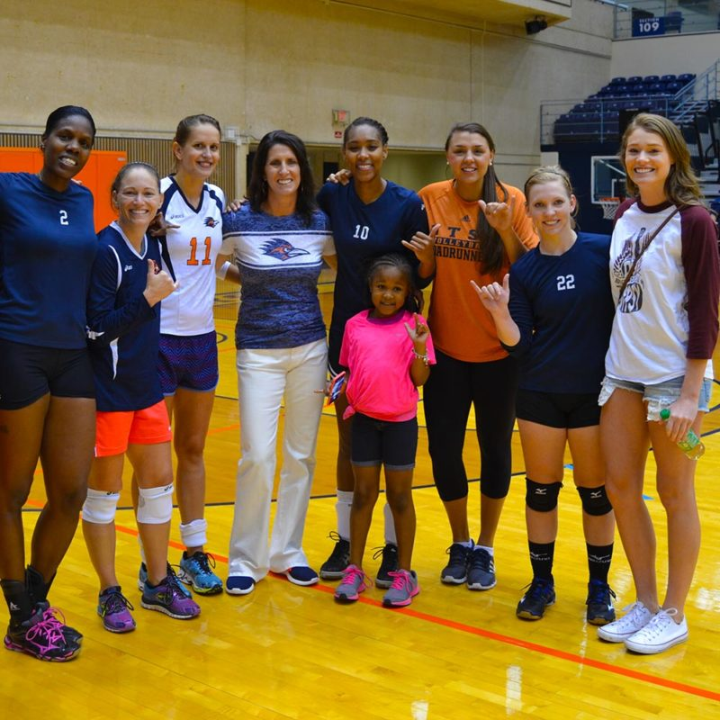 UTSA Volleyball Alumni Match, Meet & Greet